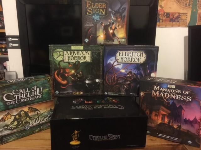 Cthulhu Mythos Games